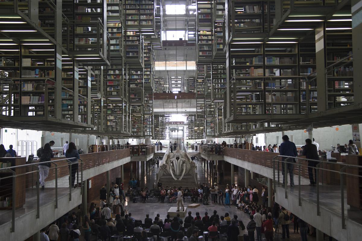 Biblioteca Vasconcelos Foto: Cuartoscuro