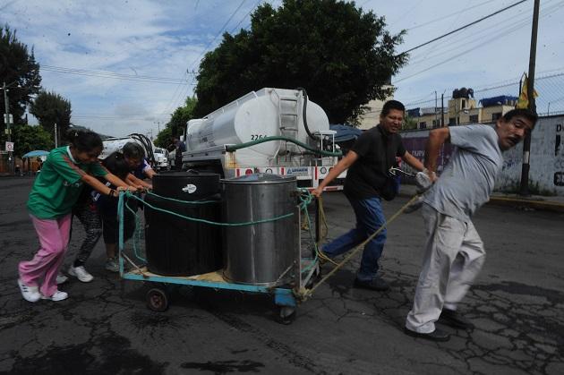 Realizan Bloqueos Para Pedir Agua En Iztapalapa