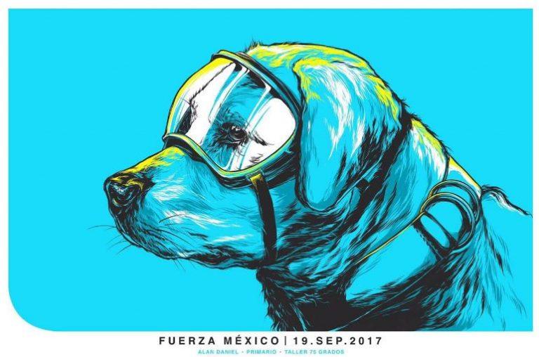 Recaudan donativos con ilustración de perrita Frida