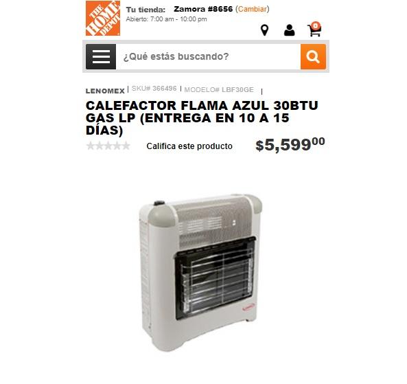Capital m xico cu nto cuesta un calefactor for Cuanto se puede retirar de un cajero