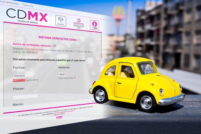 Citas verificacion cdmx 2019