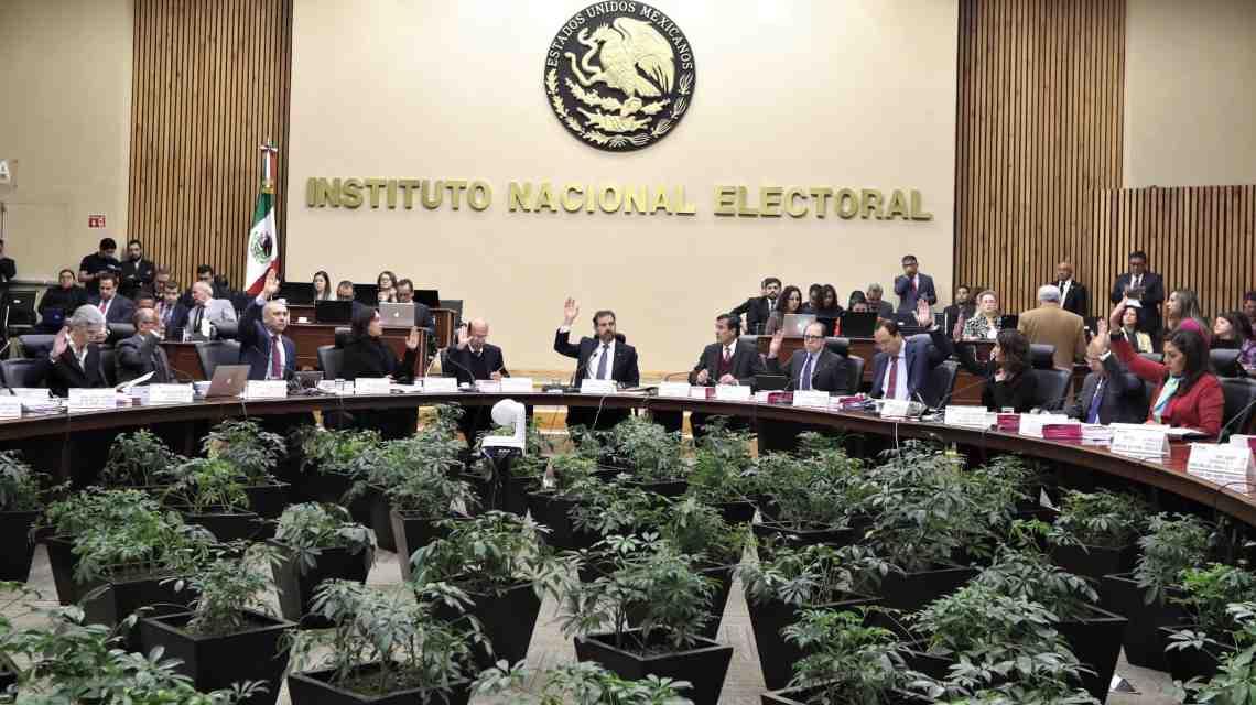 INE partidos políticos