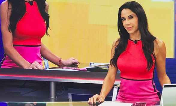 Paola Rojas sin maquillaje