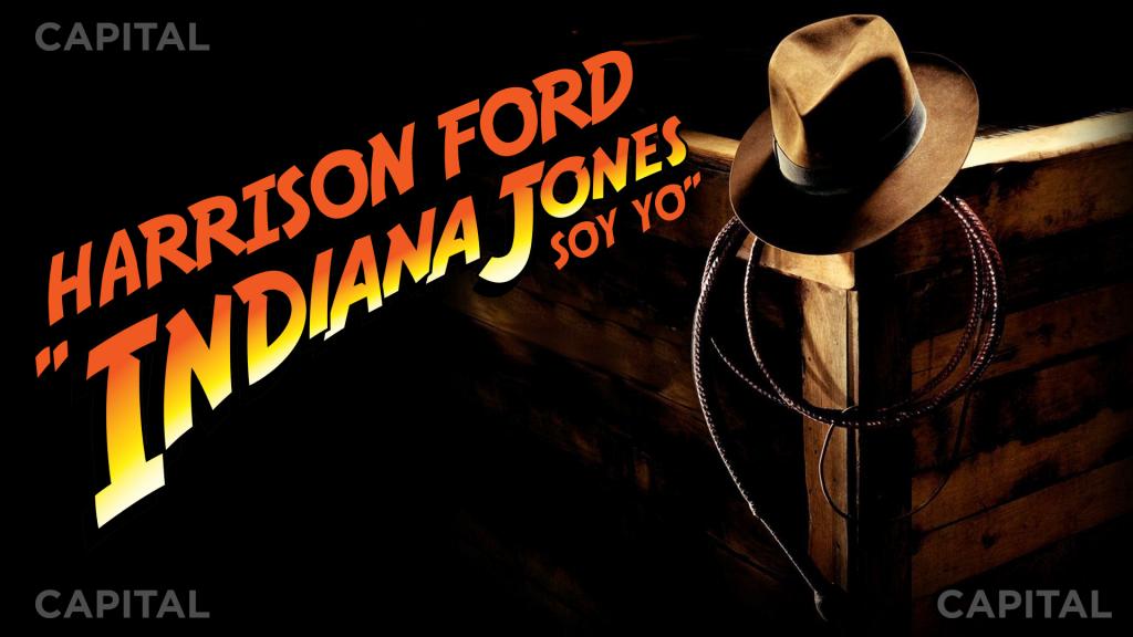 "Harrison Ford ""Indiana Jones soy yo"""