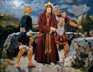 Jesús en el Cedron