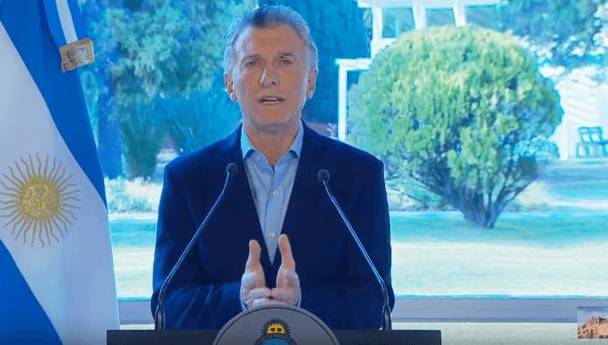 Las disculpas de Macri