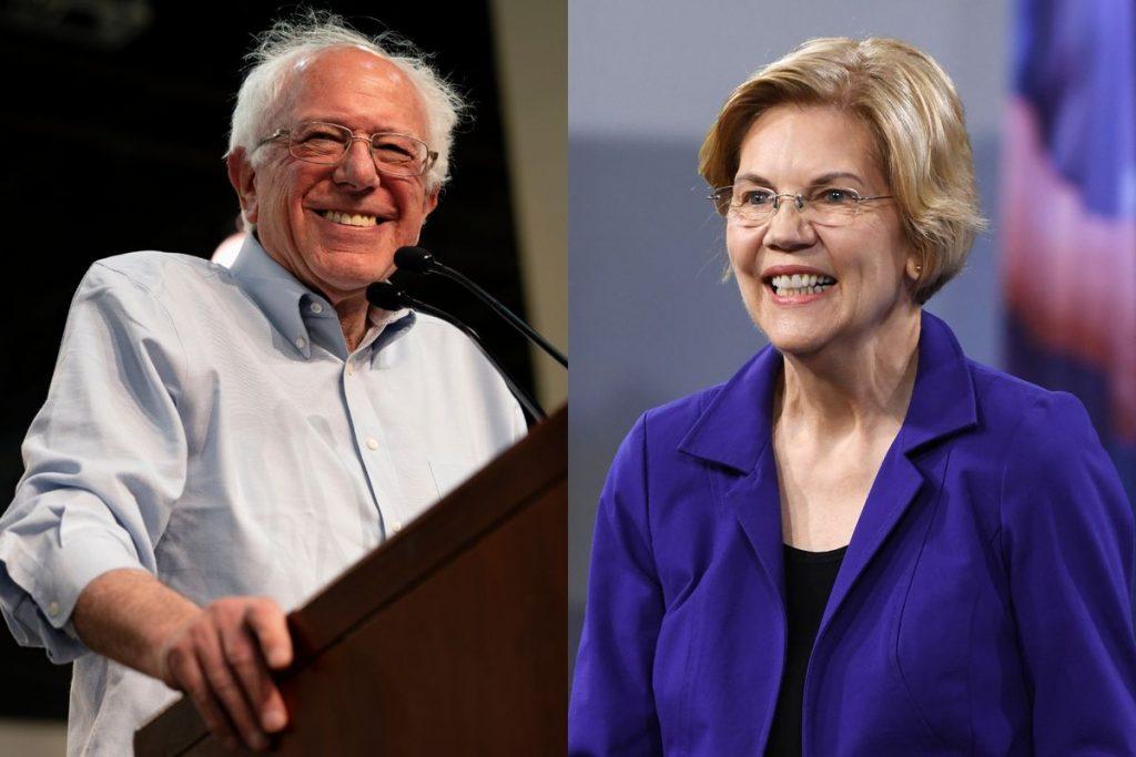 Elizabeth Warren bernie sander