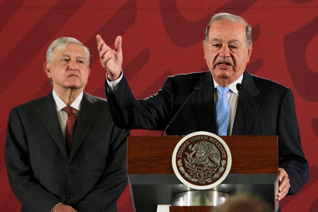 Carlos Slim, AMLO