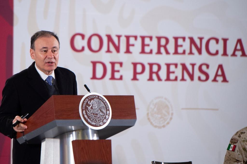 Alfonso Durazo Foto: Presidencia