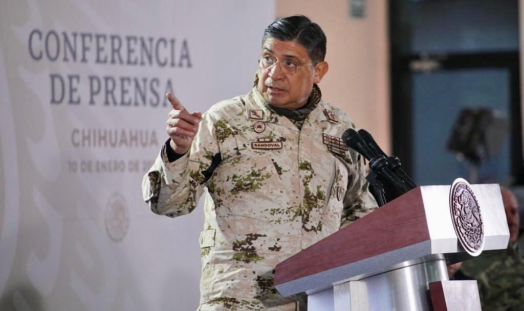 Luis Cresencio Sandoval Foto: Presidencia