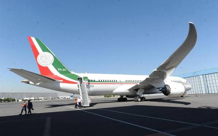 Avión presidencial Foto: Internet