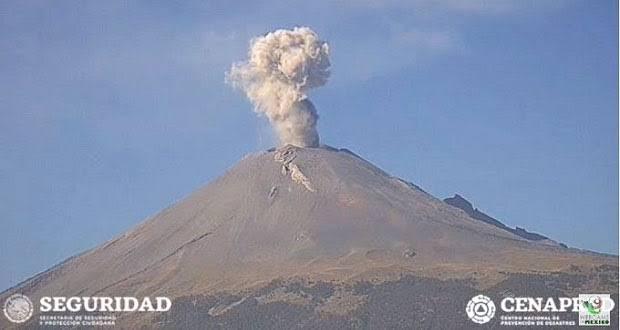 Popocatépetl Foto: Internet