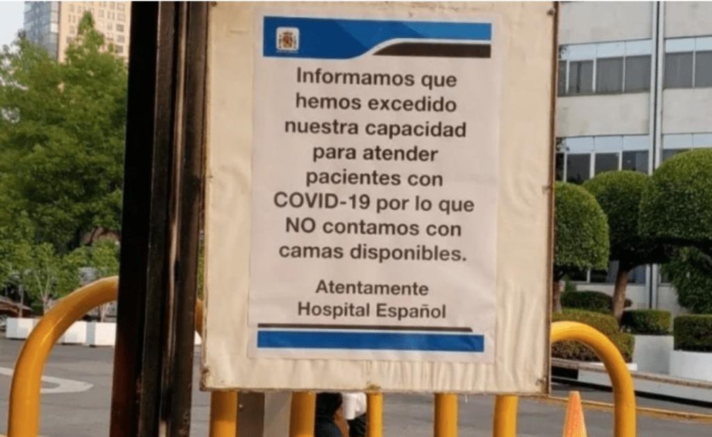 Hospital Español Foto: Internet
