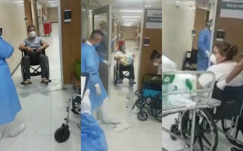 Con aplausos dan de alta a médico en Coahuila detectado con Covid-19
