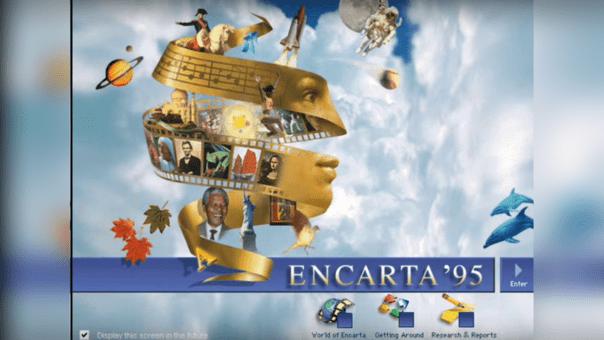 Usuarios en Twitter recuerdan con nostalgia la enciclopedia Encarta