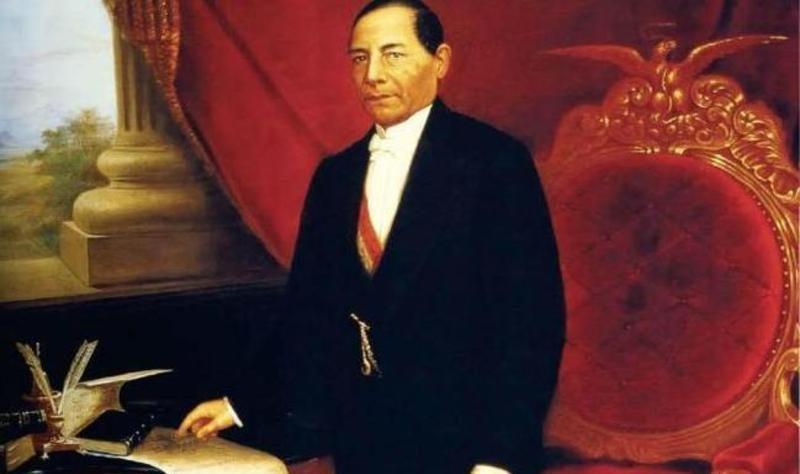 Benito Juárez Presidente de México 1861