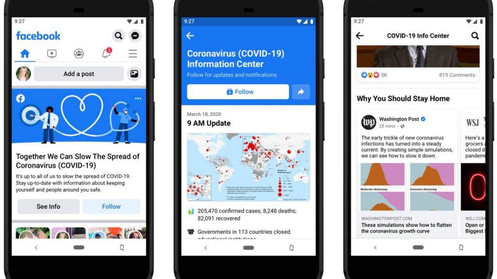 Facebook lanza mensajes para usar cubrebocas en México