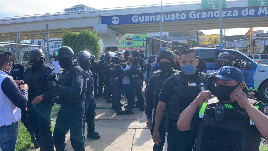 CNDH y ONU condenan uso excesivo de la fuerza contra manifestación pacífica en Guanajuato