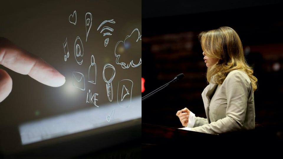 """""""Que se castigue incitar delito a través de redes sociales"""", diputada Laura Barrera"""