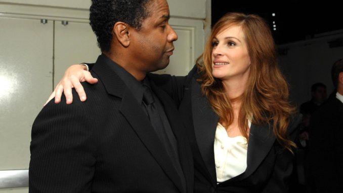 Julia Roberts y Denzel Washington protagonizarán película para Netflix
