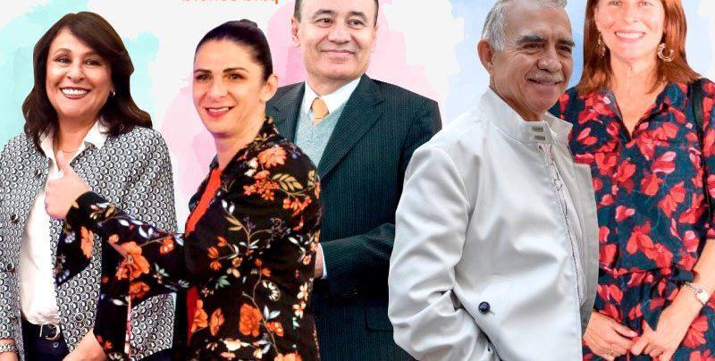 Nombres que se escuchan para gubernaturas de Morena en 2021