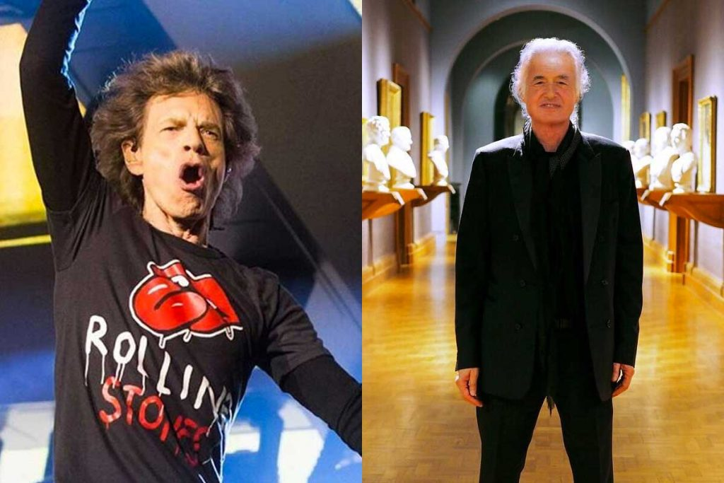 Rolling Stones - Jimmy Page Foto: Internet