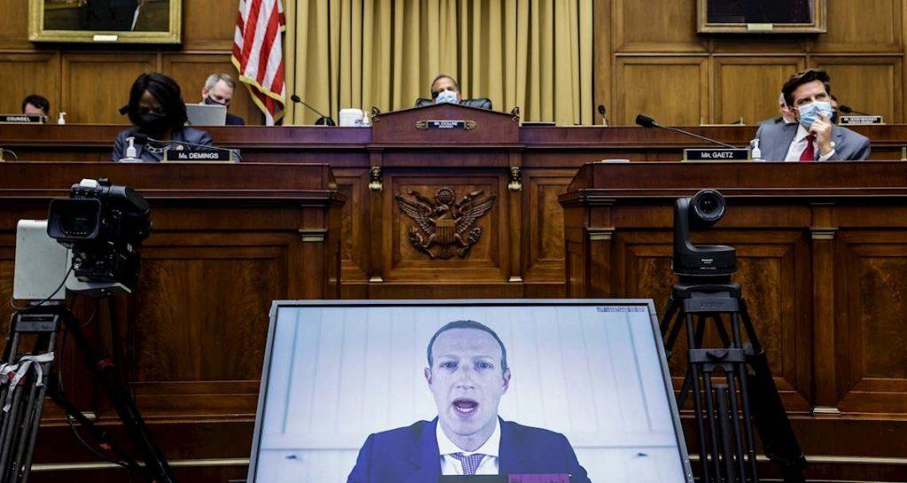 Amazon, Apple, Facebook y Google comparecieron ante Congreso de EUA