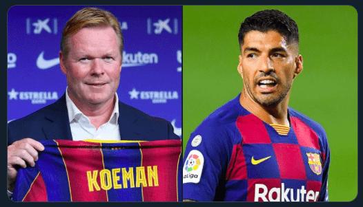 Koeman le deja claro a Luis Suárez que no cuenta con él