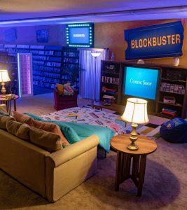 El último Blockbuster se convierte en Airbnb por tiempo limitado