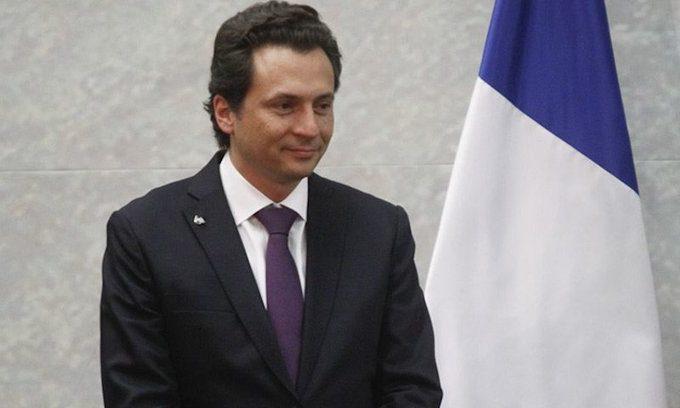 Dan de alta a Emilio Lozoya, salió del Hospital Ángeles