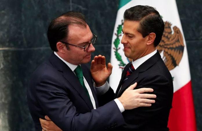 Luis Videgaray - Peña Nieto Foto: Internet