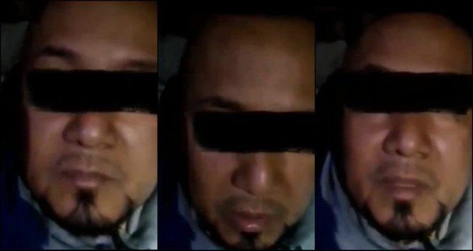 """Tras ser detenido, difunden video interrogatorio de """"El Marro"""""""