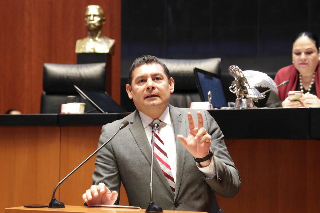 """Busca Senado justicia tributaria y distributiva; """"que pague más el que gane más"""": Alejandro Armenta"""