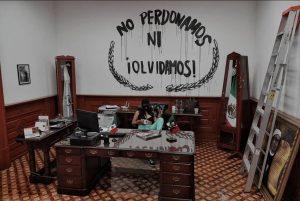 AMLO reprocha vandalismo en CNDH