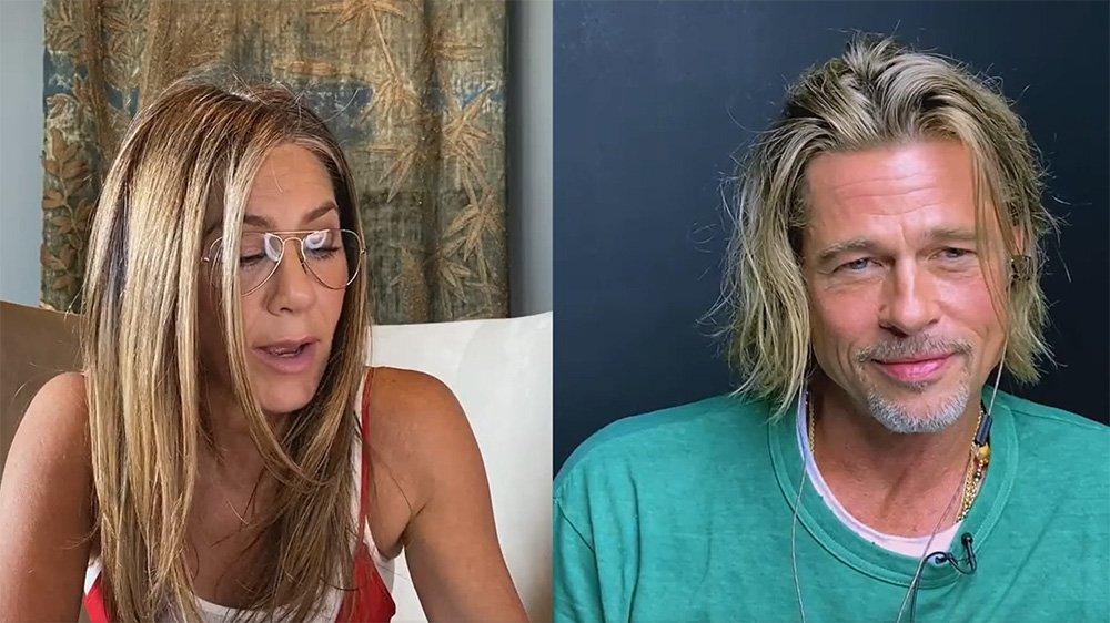 Tras 20 años, así volvieron a trabajar juntos Brad Pitt y Jennifer Aniston