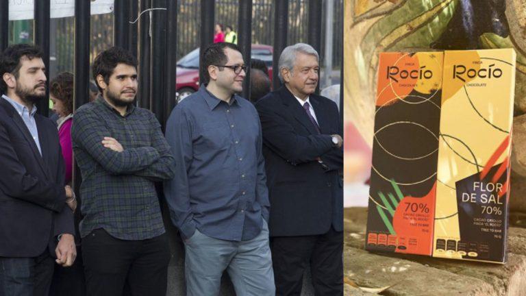 Hijos de AMLO abrieron primera tienda de su chocolatería en la CDMX