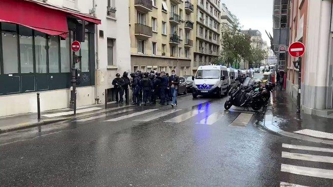 Ataque con arma blanca deja 2 heridos en París