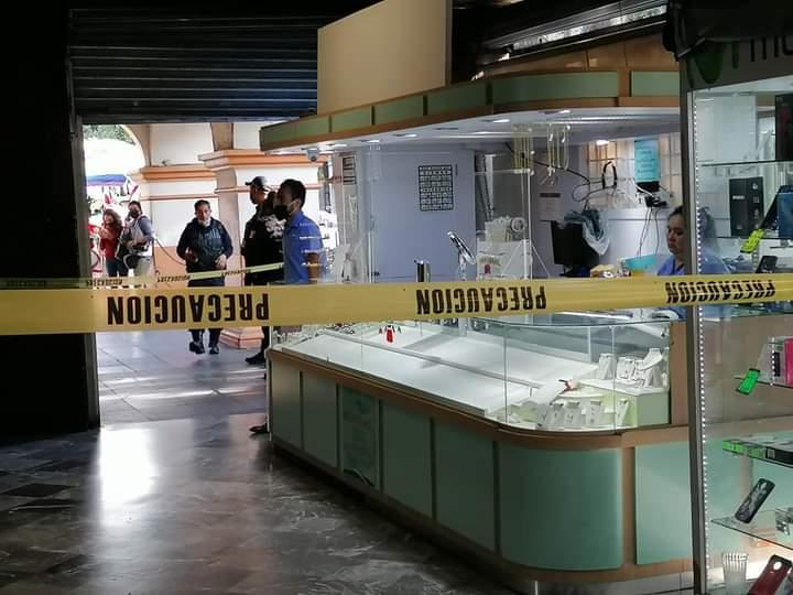 En el centro de Cuernavaca, Morelos asaltan joyerías