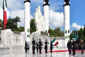 AMLO encabezó ceremonia por Gesta Heroica de los Niños Héroes