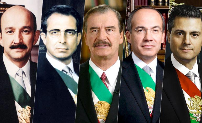 Ex presidentes Foto: Internet
