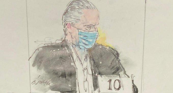 """Ante tribunal en NY, Salvador Cienfuegos Zepeda se declaró """"no culpable"""""""