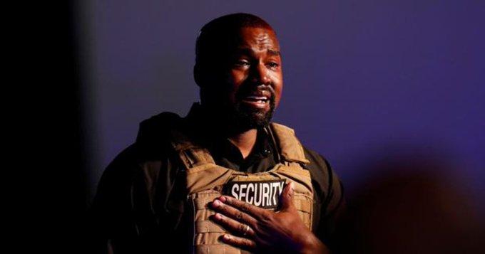 Kanye West feliz de votar por primera vez y por sí mismo, para presidente de EUA