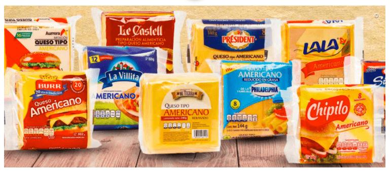 """Según Profeco estas marcas de """"queso amarillo"""" no son queso"""