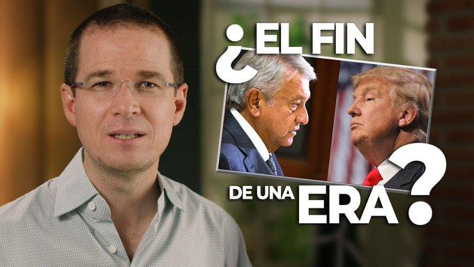 Ricardo Anaya desea victoria de Biden; crítica sumisión de AMLO ante Trump