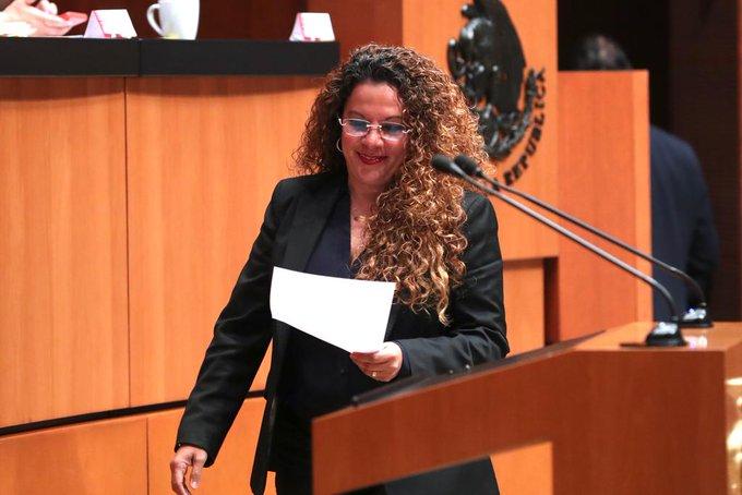 Rocío Adriana Abreu Artiñano Foto: @RocioAbreuA