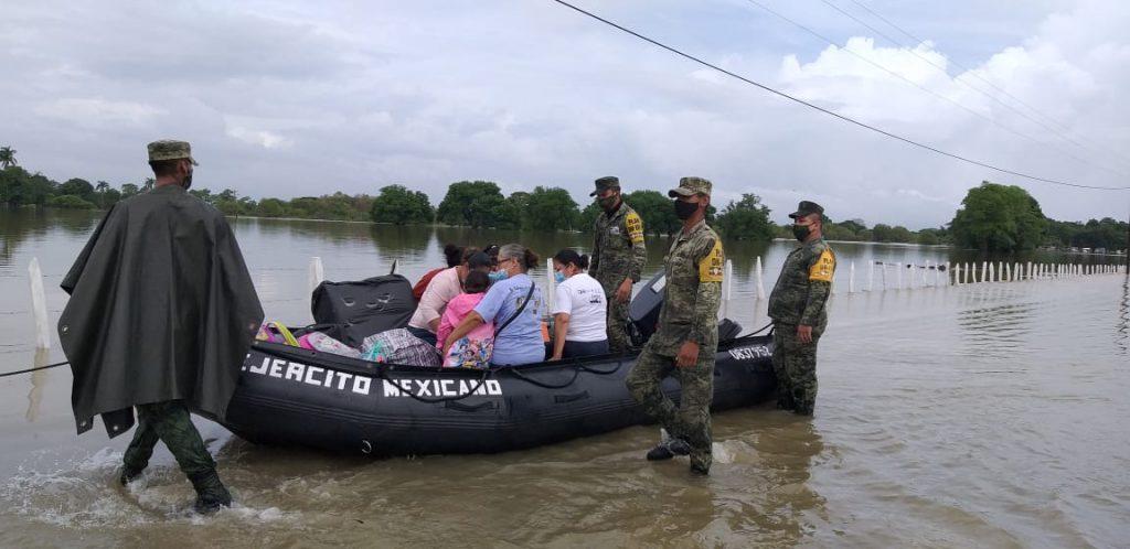 """SEDENA mantiene el """"Plan DN-III-E"""" en Tabasco y Chiapas"""