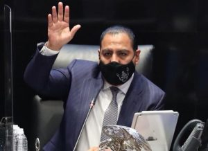 Senado impugna resolución del INE, informó Eduardo Ramírez Aguilar