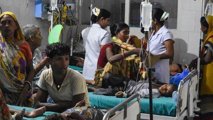 Enfermedad desconocida deja un muerto y 200 personas hospitalizadas en la India