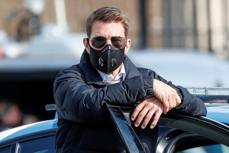 Tom Cruise enfureció porque miembros de rodaje no respetaron sana distancia
