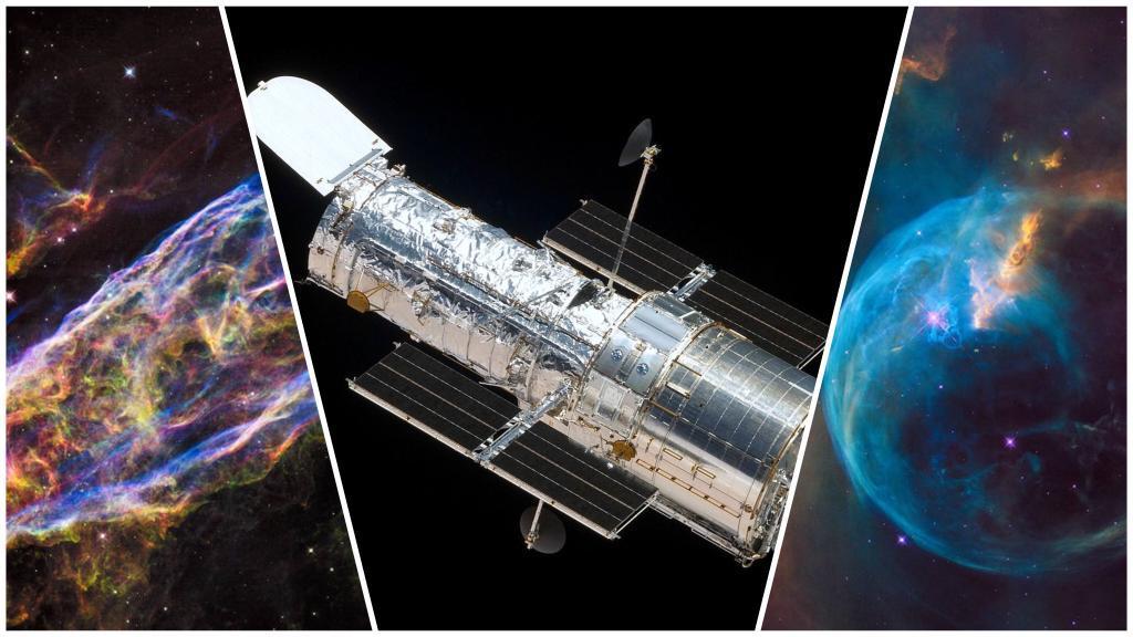 Hubble cumple 30 años; NASA lanza imágenes impresionantes captadas por el telescopio